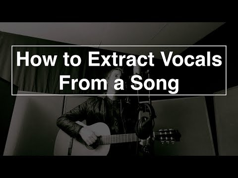 How to Extract Vocals From a Song - Logic pro X