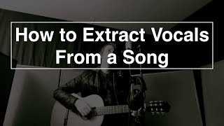 Download How to Extract Vocals From a Song - Logic pro X Mp3 and Videos