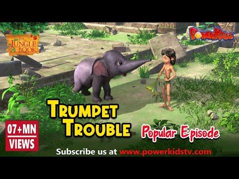 Download जंगल बुक सीजन 2 हिंदी में    हिंदी कहानियां    Trumpet Trouble   Hindi Kahaniya   PowerKids TV