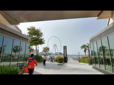 First Capsules on Ain Dubai World largest Ferris-wheel in Dubai Bluewaters Island