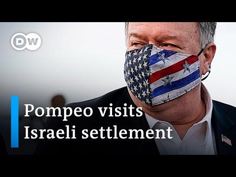 US Backs Israeli Settlements, Palestinians Look To Biden | DW News