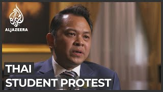 Thai student protests: Minister meets organisers