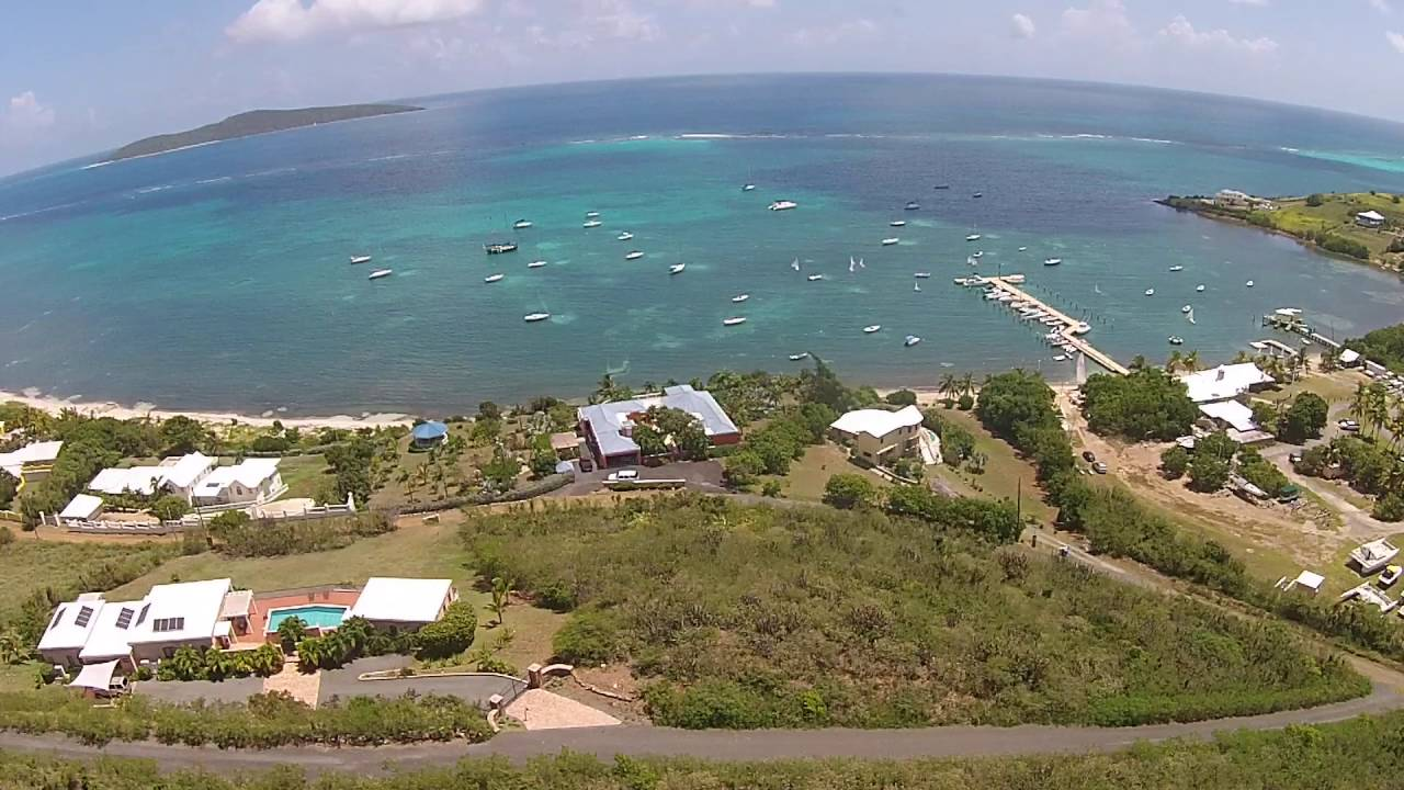 14 A & B North Slob Land Aerial St. Croix, US Virgin Is