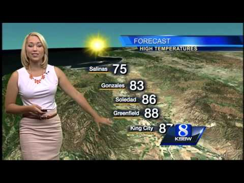 Get your Saturday Morning KSBW Weather with Tracy 10.11.14