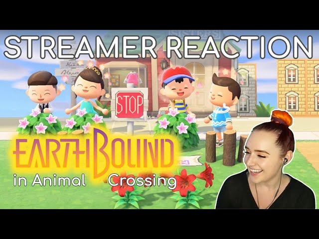 Streamers React to my Earthbound Animal Crossing Island!!