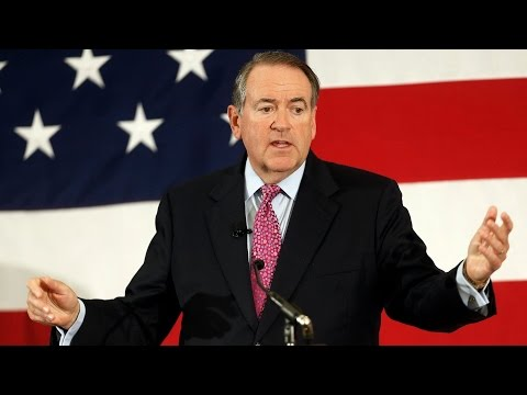 WATCH LIVE: Huckabee to announce presidential run