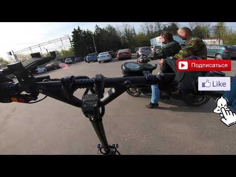 Dualtron Thunder. 4K VIDEO. Обычные будни. Сосед узнал, что такое электросамокат!