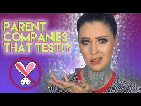 Parent Companies That Aren't Cruelty-Free?! | KristenLeanneStyle