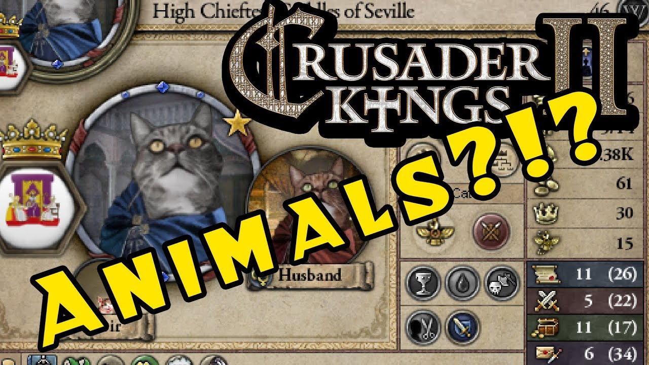 Crusader Kings 2: Holy Fury Features Animal Kingdoms