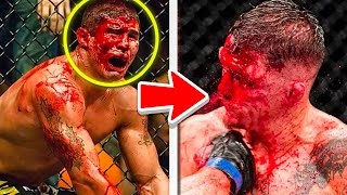 THE BLOODIEST FIGHTS IN MMA HISTORY