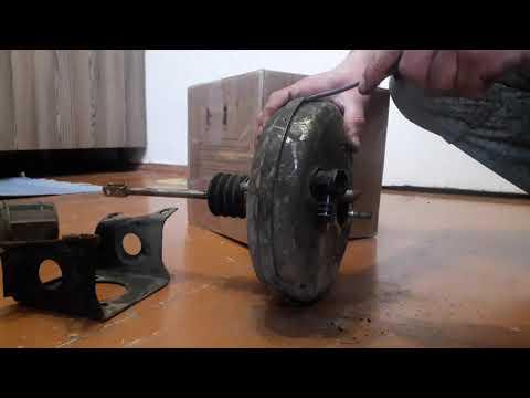 Троит двигатель! Ремонт вакуумного усилителя.