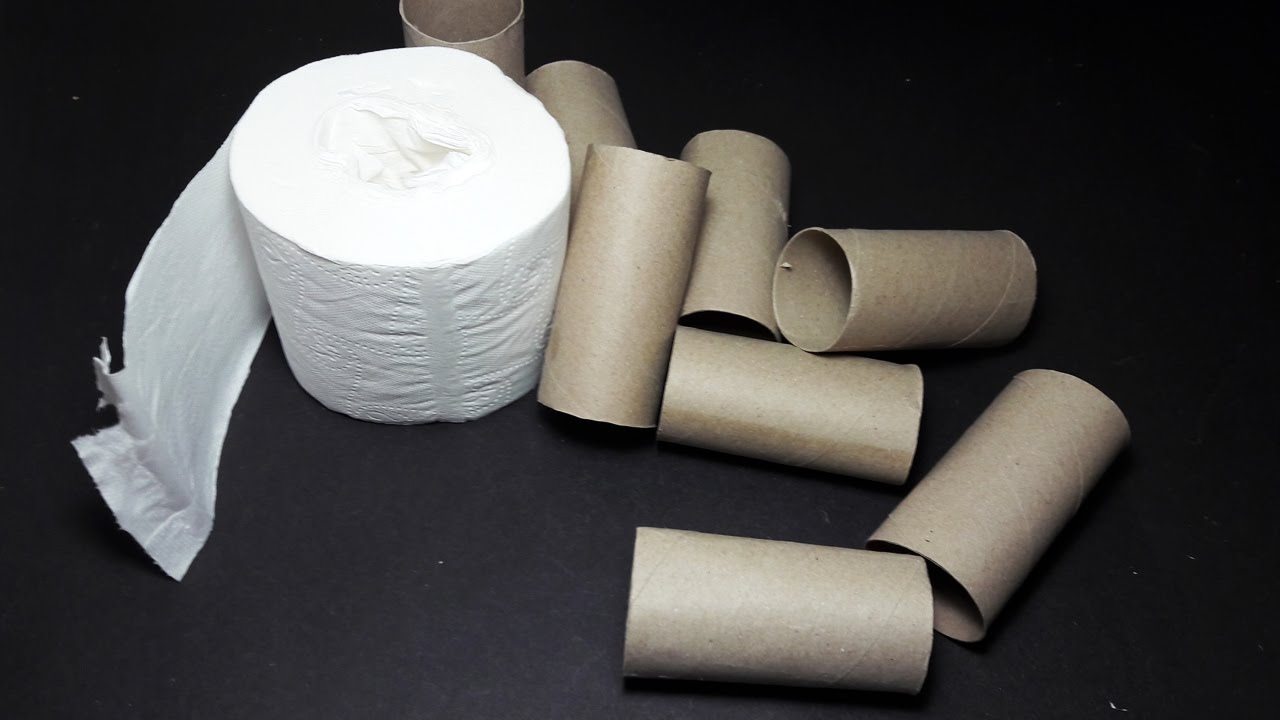 Diy 3 creative ideas with toilet paper roll toilet for Creative craft ideas with paper