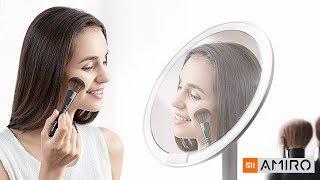Зеркало для макияжа с подсветкой Xiaomi AMIRO Mini - Обзор