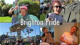 Dying My Hair Pink & Brighton Pride | Evan Edinger Travel
