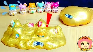 PreCure A La Mode:Coco-Tama were eaten by Slimy! let