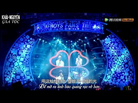 [Vietsub Concert] 150815 TFBOYS FANS' TIME In Beijing (Full)