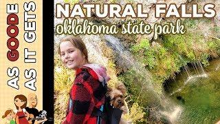 Natural Falls State Park, Okląhoma // RV Living // Family Travel