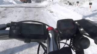 Электровелосипед на базе  PIONEER HAMMER + 1000W 48V GOLDEN MOTOR