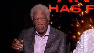 Morgan Freeman, Nick Nolte, Ric Roman Waugh Interview: Angel Has Fallen