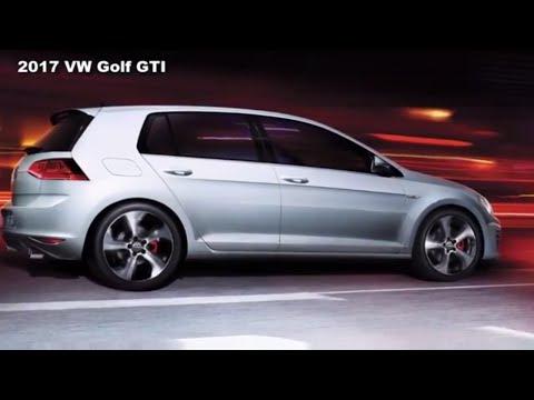 2017 Volkswagen Golf GTI - 2.0T 4-Door SE Manual