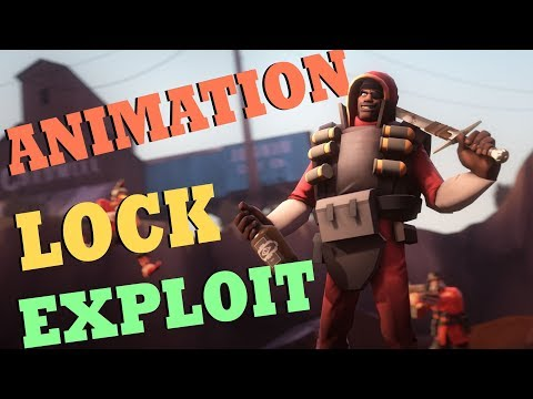 TF2 - Animation Lock Exploit (The funniest exploit ever!)