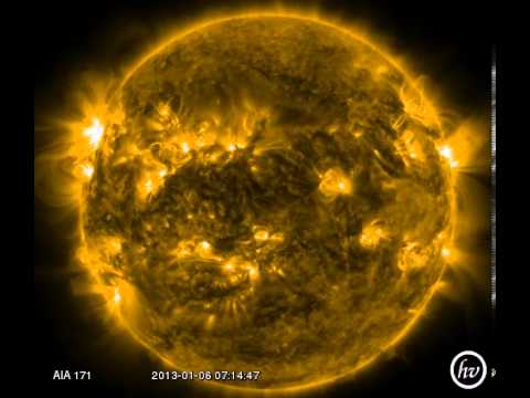 a Week on the Sun in 171 Angstroms!