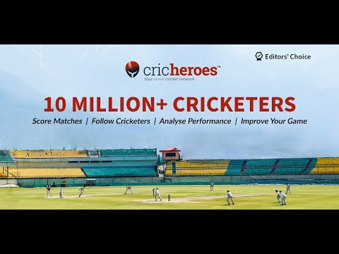 CricHeroes - World's Number 1 Cricket Scoring App - Apps on