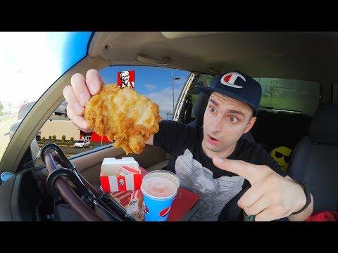 Новая курочка в KFC? Ланчбокс 5 за 200 и новинки КФС. Обзор еды