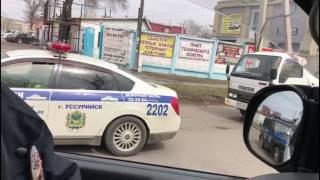 Прогулка в Уссурийске 8 апреля. Задержание