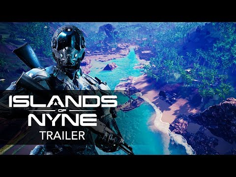 ISLANDS OF NYNE: BATTLE ROYALE - Official Gameplay Trailer   Early Access 2018