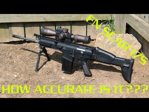 FN SCAR 17S Accuracy Test/Review - SUB-MOA???