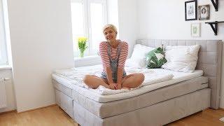 MINIMALISMUS ROOMTOUR 1| Schlafzimmer, Kleiderschrank, Schminktisch...