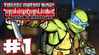 TMNT: Mutants in Manhattan - Part 1 - Turtle Power! Gameplay Walkthrough
