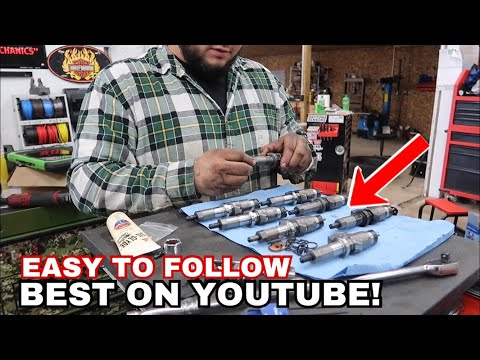 How to Install Duramax LB7 Injectors