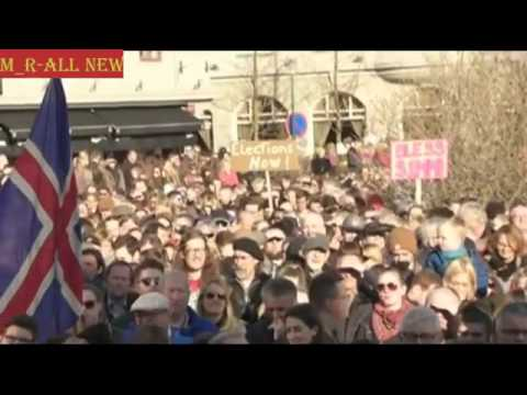 Iceland thousands demonstrate in Reykjavik calling for PM resignation M R All News