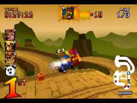 todos los trucos y atajos de ctr (Crash team racing) (nuevo atajo)