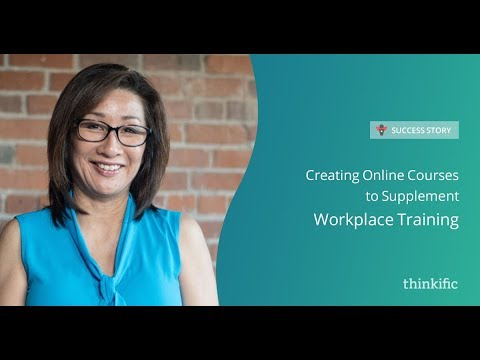 How to move from in-person to online course delivery | Thinkific Success Story: Wendy Quan