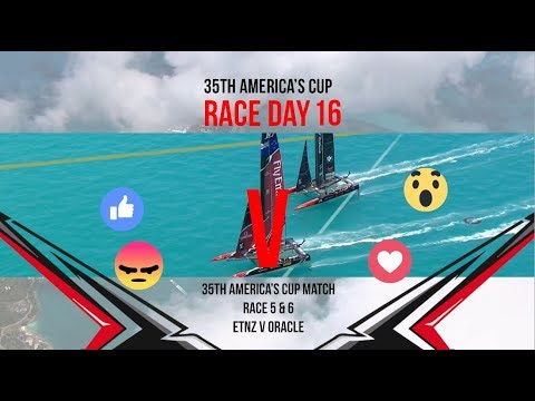 35th America's Cup Match: Races 5 & 6 Favourite moments