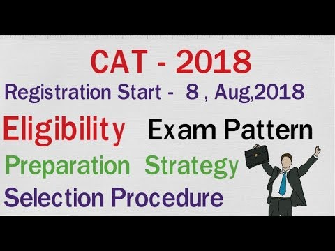 CAT ll 2018 ll Registration Details ll Exam Pattern ll Selection Procedure ll Salary  ll Eligibility