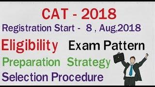 CAT ll 2018 ll Registration Details ll Exam Pattern ll Selection Procedure ll Meritech Education