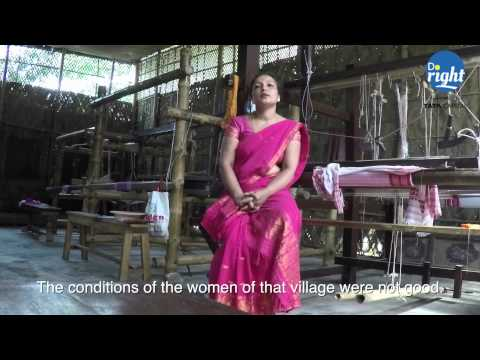How women in a remote part of India are proving that they are cut from a different cloth!