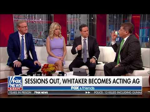 Judge Nap: Whitaker Not 'Legally Qualified' to Be Acting Attorney General