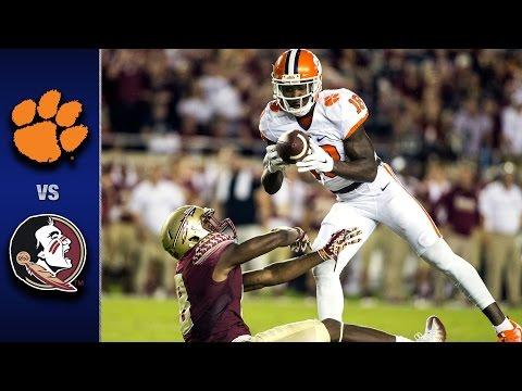 Clemson vs. Florida State Football Highlights (2016)