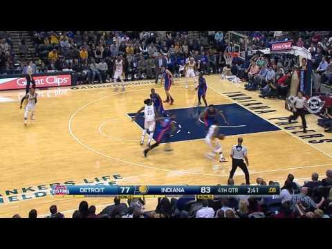 Detroit Pistons vs Indiana Pacers   January 2, 2016   NBA 2015-16 Season