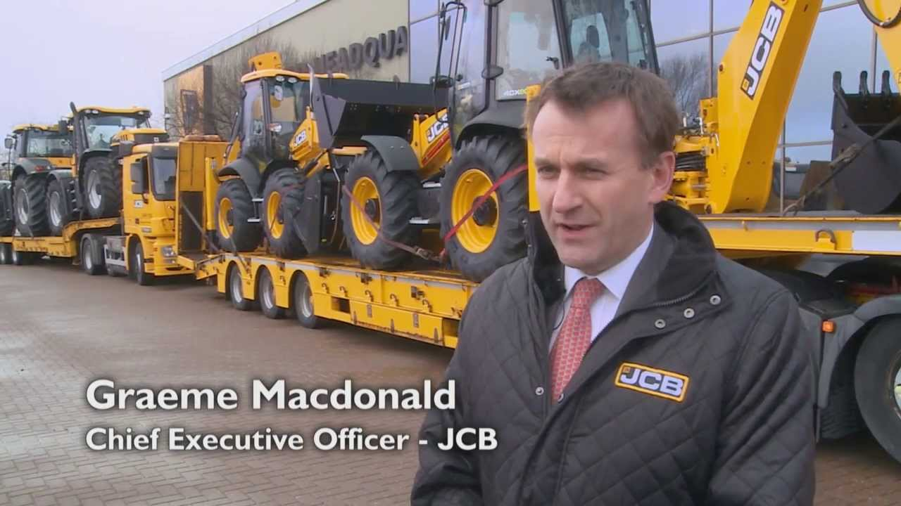 JCB Machines deployed to help stricken families affected by floods