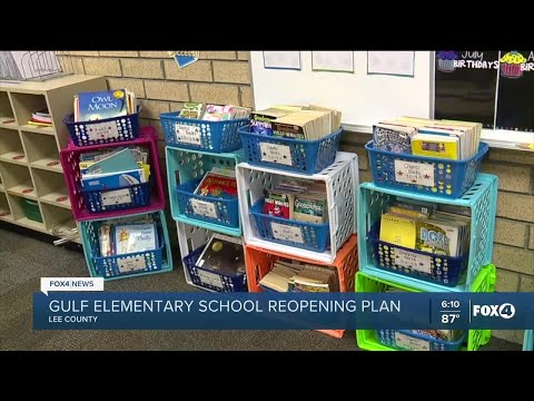 Gulf Elementary School reopening plan