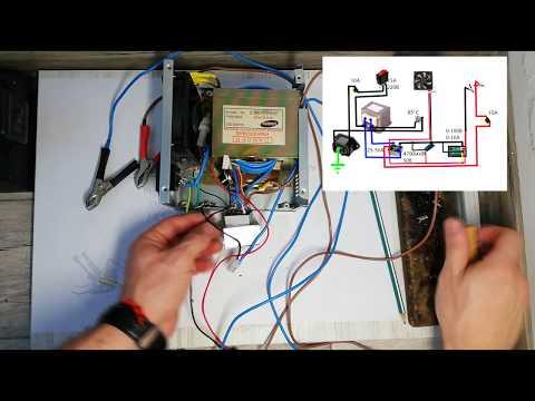 Зарядник для аккумулятора автомобиля своими руками схема