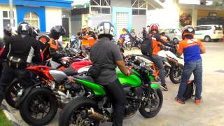 Geng Zizan konvoi ke MotoGP SIC