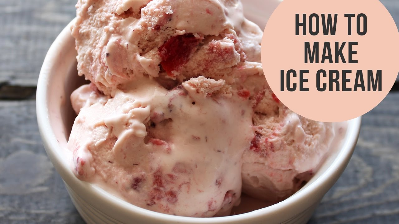 How to Make Old-Fashioned Ice Cream