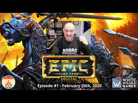 Epic Card Game Digital EP1 - Learn & Play - Crit Camp